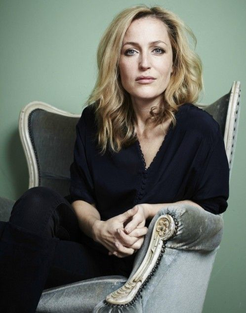 Gillian Anderson as Stella Gibson in the Netflix hit The Fall