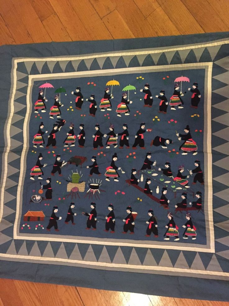 13 best Story cloths images on Pinterest | Clothes, Cloths and Diy ... : hmong story quilt - Adamdwight.com