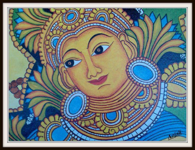 Design Decor & Disha: Indian Art: Mural Paintings Of Kerala