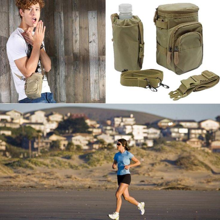 Hiking Backpacks Fanny Pack Waist Pack Water Bottle Holder Pockets Climbing Travel Hiking Bag New Mochilas Deportivas nto #Affiliate