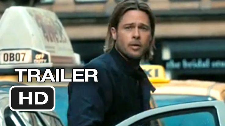 World War Z Official Trailer #1 (2013) - Brad Pitt Movie HD #movies #movietrailer #bradpitt #worldwarz