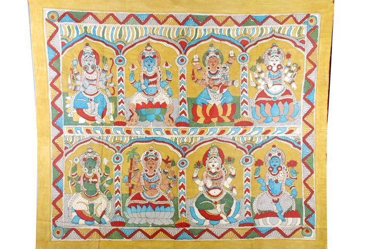 Kalamkari Painting – Desically Ethnic