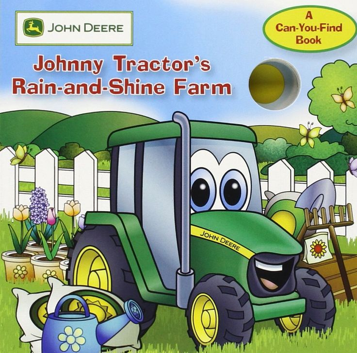 John Deere: Johnny Tractor's Rain-and-Shine Farm (John Deere, a Can You Find Book) Price:$6.95