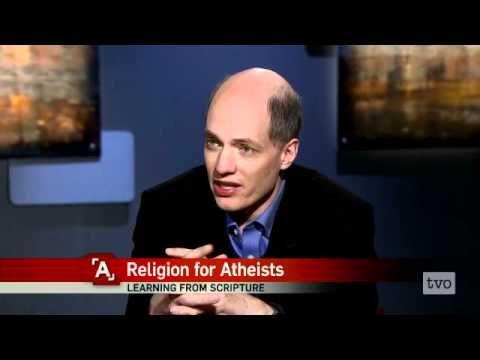 Alain de Botton: Religion for Atheists - YouTube
