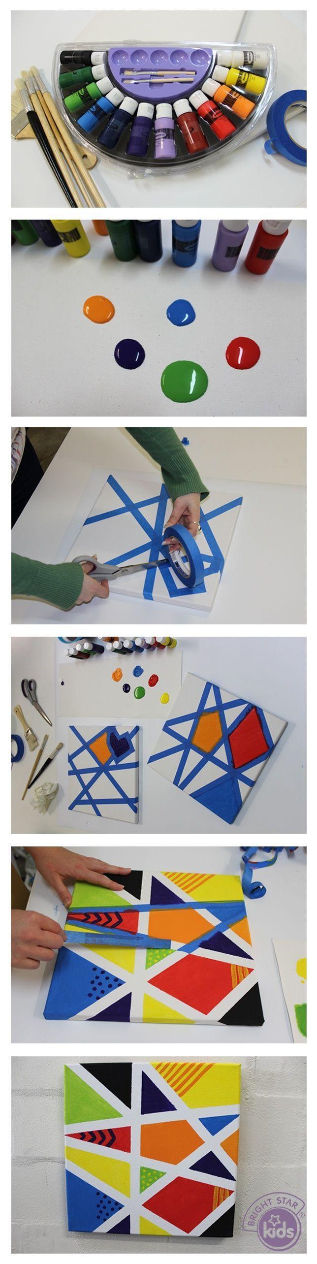 kanvas tablo yapımı