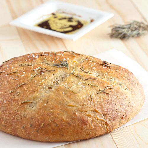 ... Rosemary Garlic Bread | Recipe | Garlic bread, Rustic and Garlic