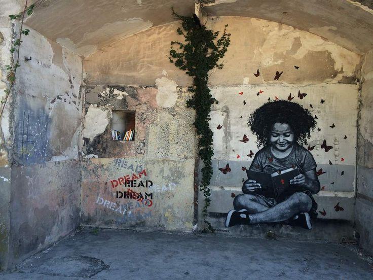 """Le """"Street Art"""" redonne vie au Fort d'Aubervilliers. #Insituartfestival - So French"""