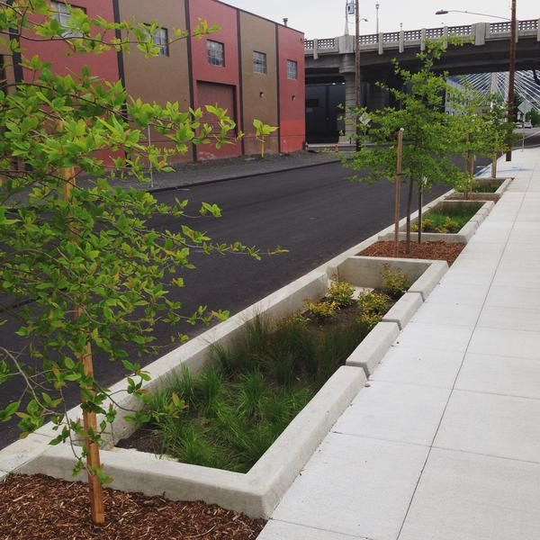 430 best images about stormwater planters on pinterest for Garden pots portland