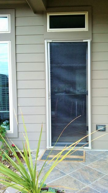 25 best ideas about screen door installation on pinterest Cost of retractable screen doors
