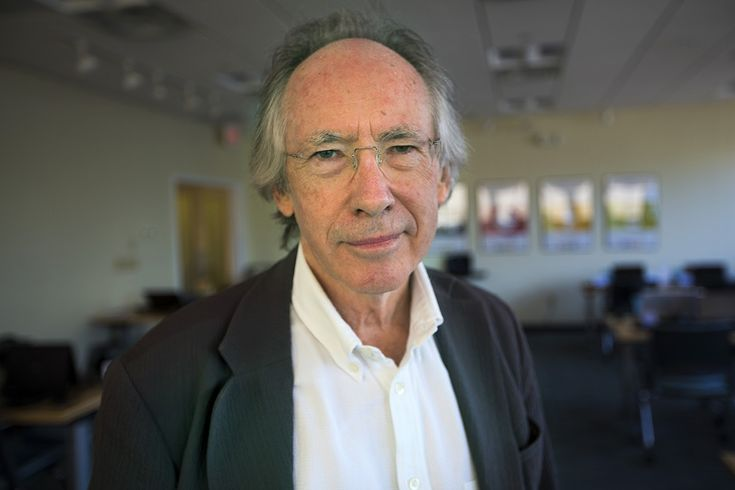 Few people can string together words as beautifully as Ian McEwan. He joins us to talk about his new tale of a prenatal Hamlet.