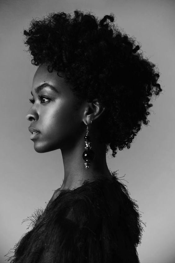 4b Natural Hair, Natural Hair Styles, Natural Hair Inspiration, Natural Hair Type, Black Girl, Photography, Black Girl Make Up