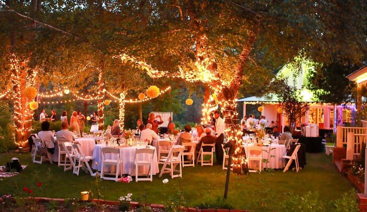 outdoor wedding receptions - Wedding Decor Ideas