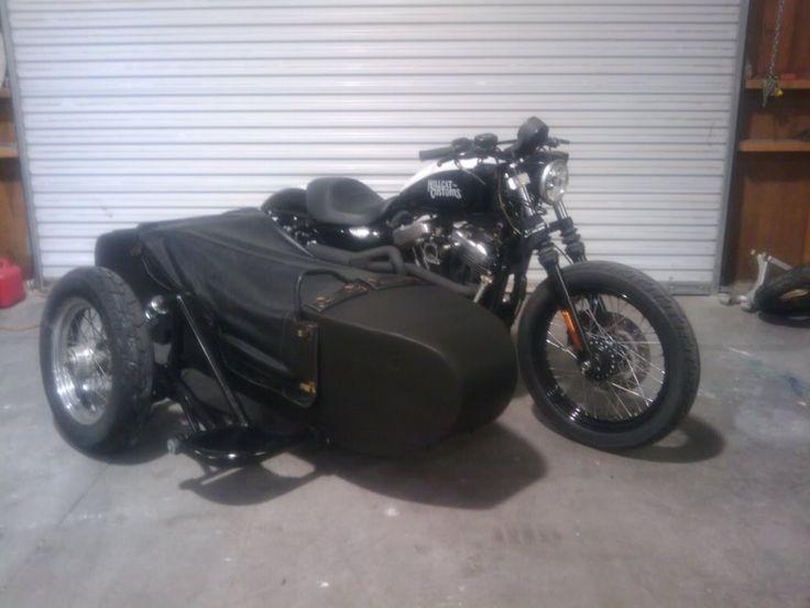 Sidecar on Sportster - Harley Davidson Forums