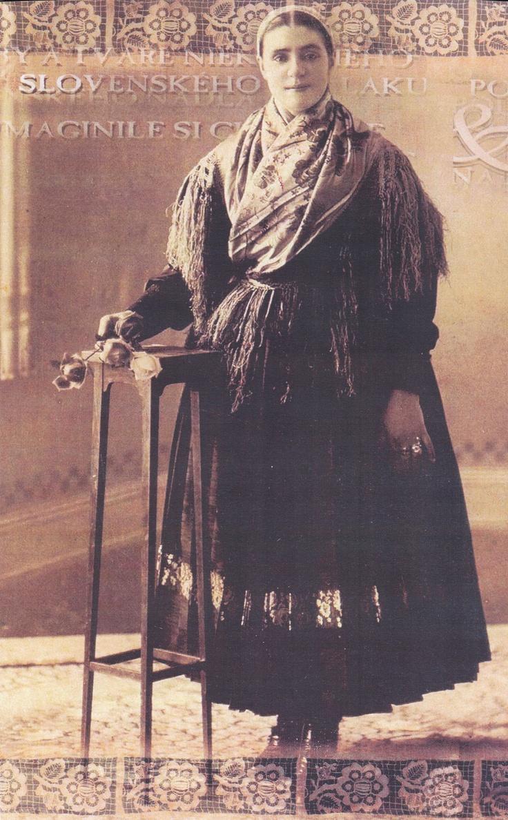 Slovak woman from Nadlak
