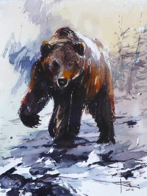 Grizzly-by-tony-belobrajdic by artiscon on DeviantArt