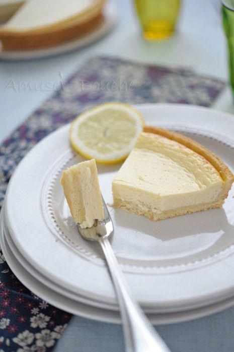 Tarte au citron et fromage blanc