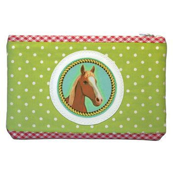 94-942 MAKEUP-CASE HORSE via Camilla Martelius Design. Click on the image to see more!