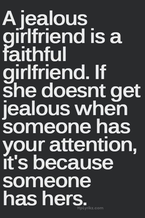 girlfriend, quote, and jealous image