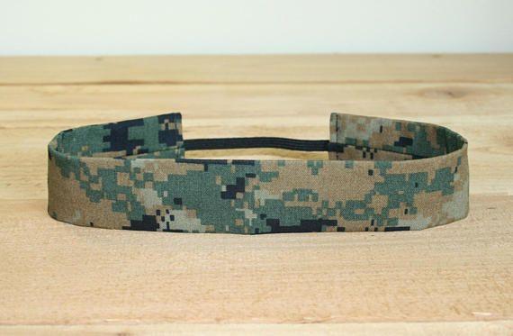 Woodland MARPAT USMC Adult Headband Military Camo