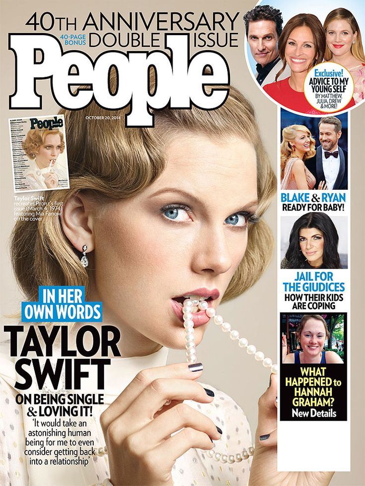 ON NEWSSTANDS 10/10/14: It's our 40th anniversary issue! Plus: An exclusive interview with Taylor Swift and more.