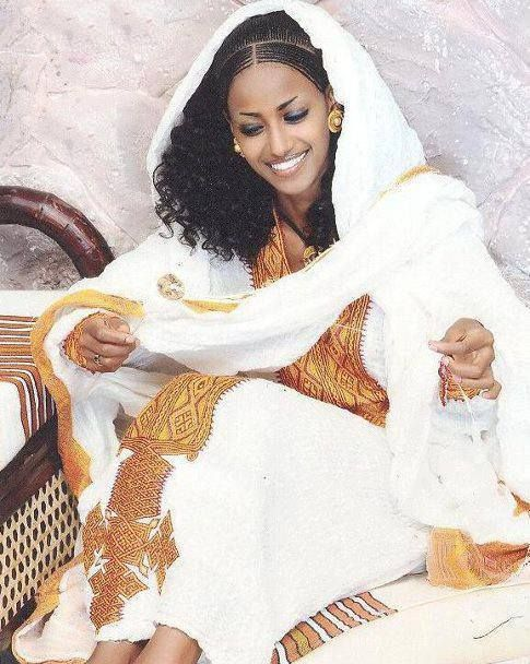 Simple Ethiopian Traditional Dress Fashion Ethiopian Traditional Dress