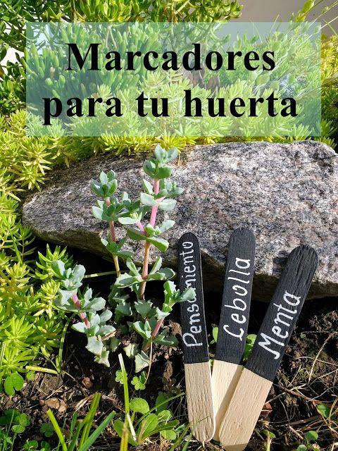Garden markers / Marcadores para tu huerta
