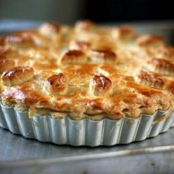 Chicken and Mushroom Pie inspired by Maggie Beer