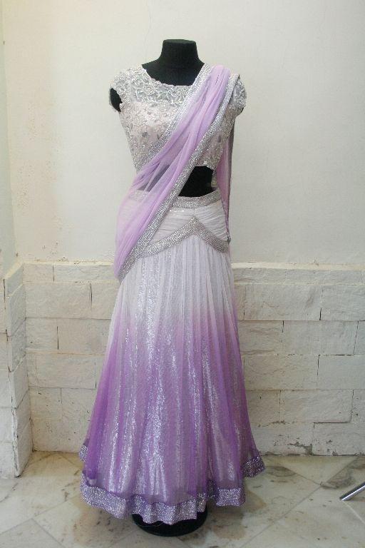 Arpita Mehta lehenga..pretty shade of lavender