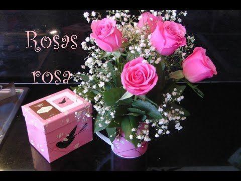 Como hacer arreglo floral de Rosas dentro de una taza, para ella. Centerpiece roses - YouTube