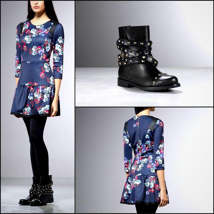 OUT NOW: New exclusive floral print corolla-shaped dress!  Buy it online: http://patriziape.pe/newfloraldres   Finalmente disponibile la nuova fantasia floreale dell'apprezzatissimo abito #anarchic mood in tessuto foderato/spalmato con esclusiva stampa Patrizia Pepe.  #floralprints #dressaddict #flowersfashion #iloveit #fashion #fashionable #follow #like #onlypatriziapepe #patriziapepefly