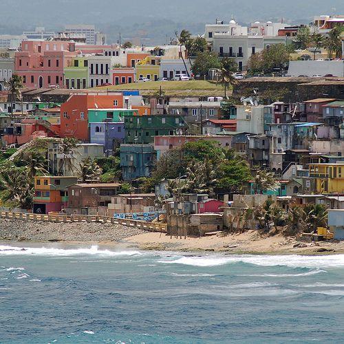 La Perla, Old San Juan, Puerto Rico