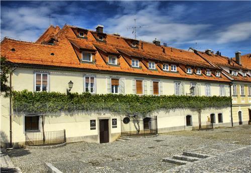 Slovenija-Maribor Stara Trt old Wine House