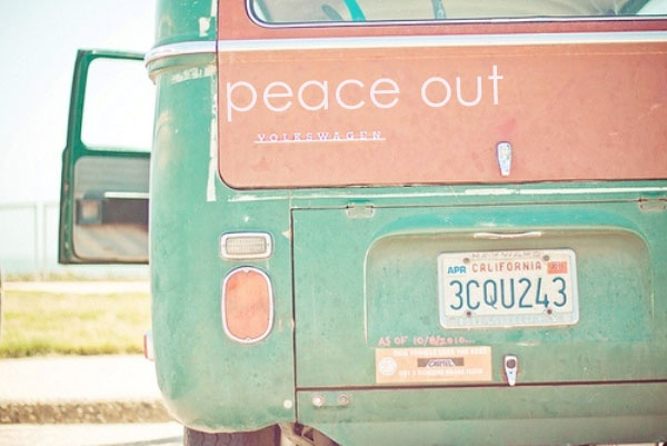 peace out: Buses, Boho Chic, Colors Combos, Happy Friday, Than, Peace, Colour Palettes, Vw Vans, Happy Weekend