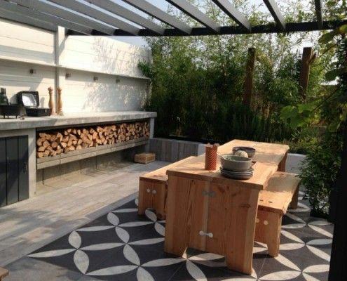1000 ideas about outdoor tiles on pinterest modern homes veranda ideas and verandas - Ideeen buitentuin ...