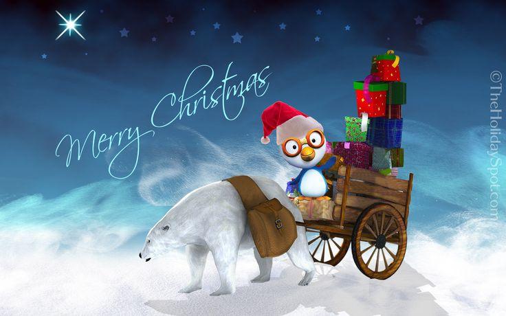 happy merry christmas wallpaper