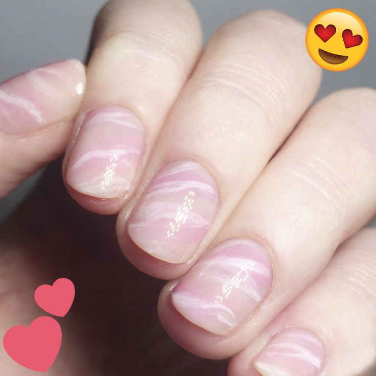 Rose Quartz Nail Trend Is Both Soothing And Pretty