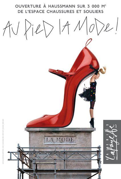 Galeries Lafayette - Au pied de la mode (Format à la française)