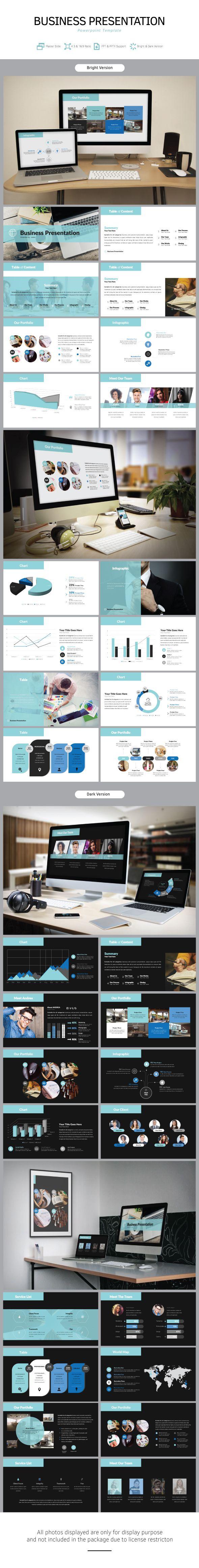 Business Presentation Template - Business PowerPoint Templates