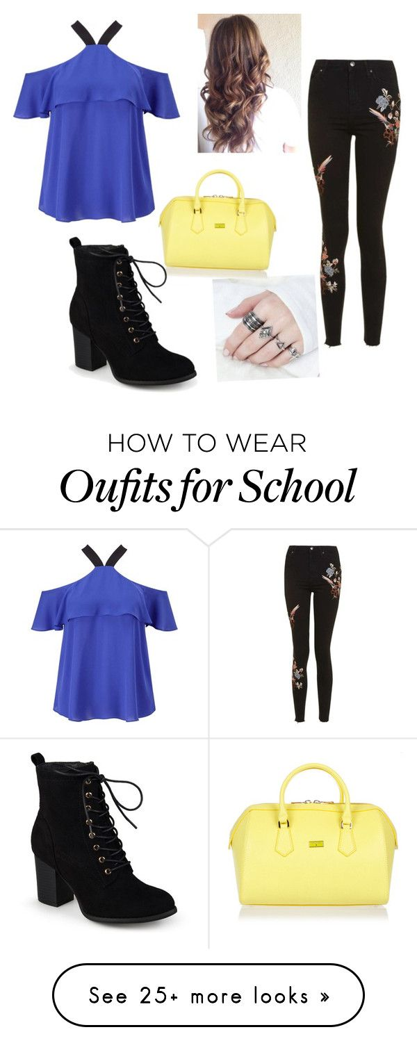 """on the run"" by emilywolfowl on Polyvore featuring Miss Selfridge, Topshop, Patrizia Pepe and Journee Collection"