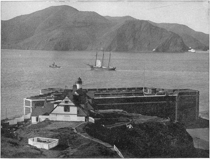 Golden Gate Bridge area before the Bridge was built