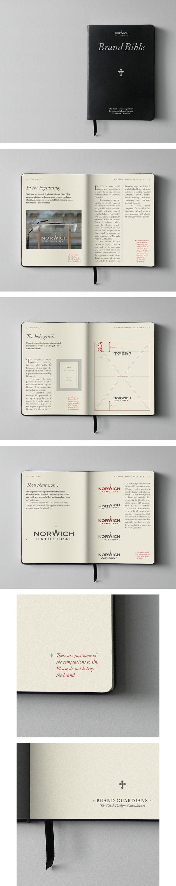 Quando a Norwich Cathedral, do Reino Unido, pediu por um manual de identidade visual, o estúdio The Click Design logo teve a ideia – ...