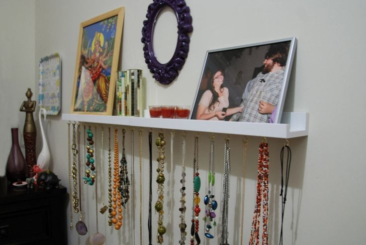 Hang Your Jewelry Collection  - HouseBeautiful.com