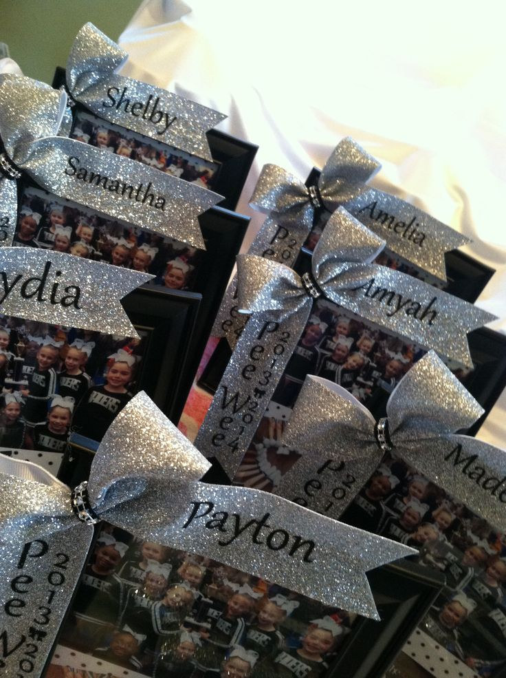 Cheer gifts for my girls! Interested?...email wild4bows@gmail.com