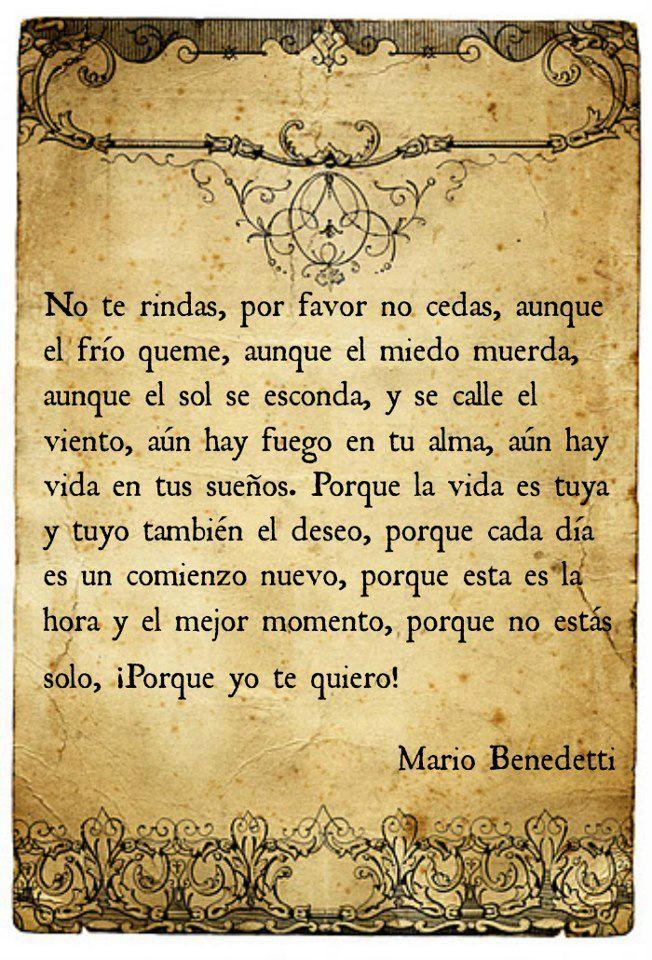 mario Benedetti                                                                                                                                                                                 Más