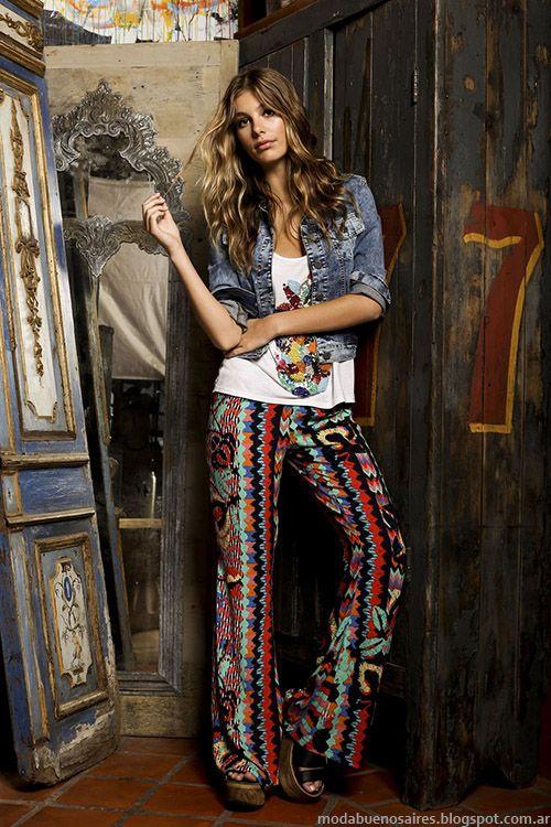OSSIRA PRIMAVERA VERANO 2015 MODA EN LOOKS FEMENINOS Y URBANOS | Verano Jeans And Moda