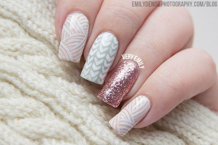Knitted Nail Art