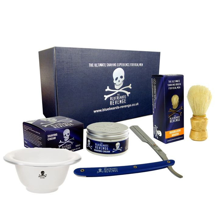 Cut Throat Razor Gift Set with Ceramic Shaving Bowl