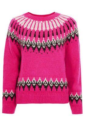 Knitted Fairisle Jumper
