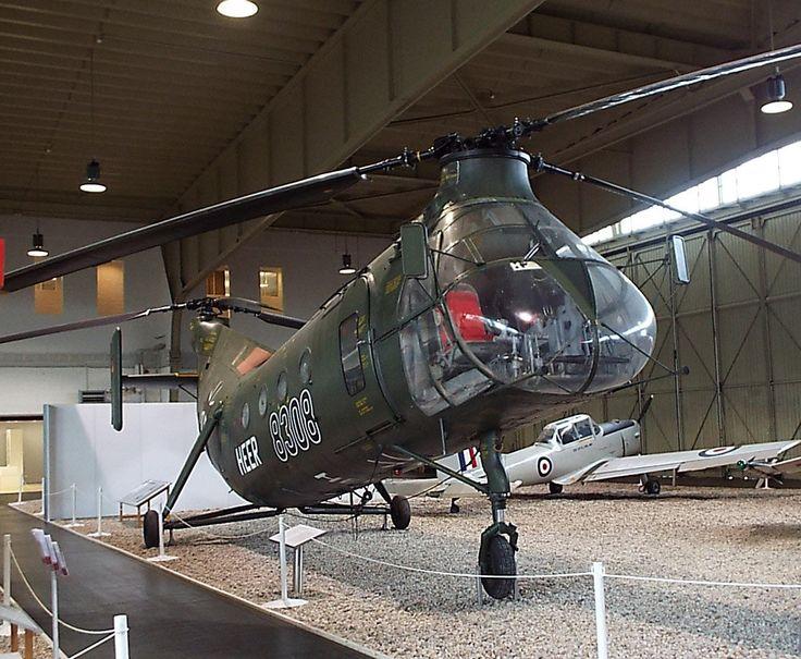 US Piasecki-Vertol H-21 C (V-43) 1952 Luftwaffe Museum Gatow Berlin