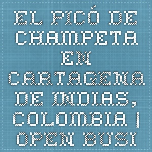 El picó de champeta en Cartagena de Indias, Colombia | Open Business Latin America & Caribbean
